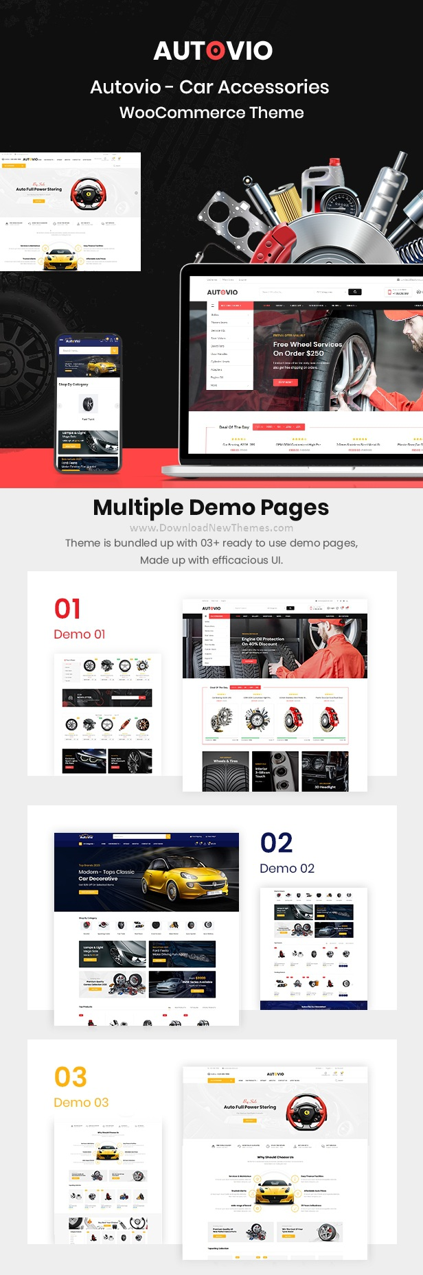 Car Accessories WooCommerce Theme