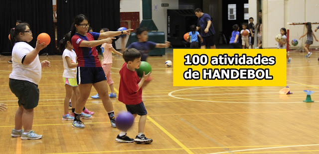100 atividades para treinos de Handebol