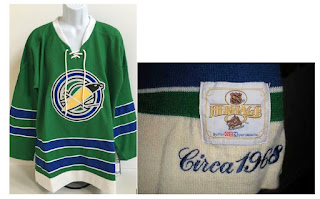 NHL CCM Heritage Jersey Collection - Oakland Seals Circa 1968