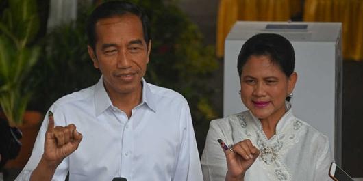 Jokowi Optimistis Menang Pilpres 2019