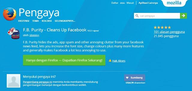 Cara Mengubah Tampilan Font Pada Facebook