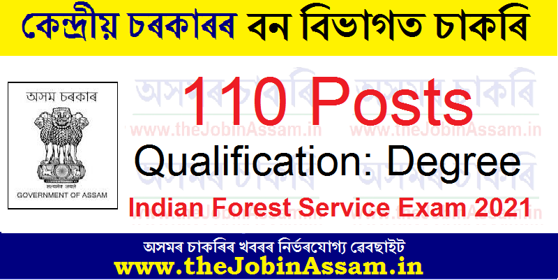 UPSC Indian Forest Service Exam 2021