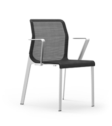 iDesk Curvina Side Chair at OfficeAnything.com
