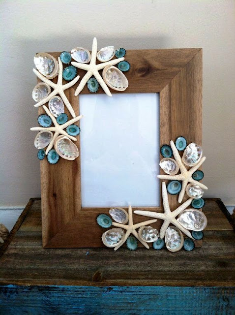 arts and craft in sea shell