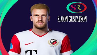 PES 2021 Faces Simon Gustafson by SR
