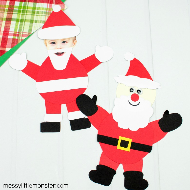 easy Santa craft