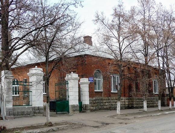 Славянск. Особняк. Памятник архитектуры. Медицинское отделение