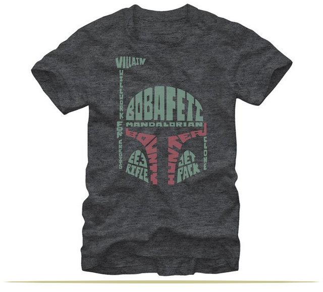 Star Wars Boba Fett Mandalorian Clone Mens Graphic T-Shirt  |  www.9CoolThings.com