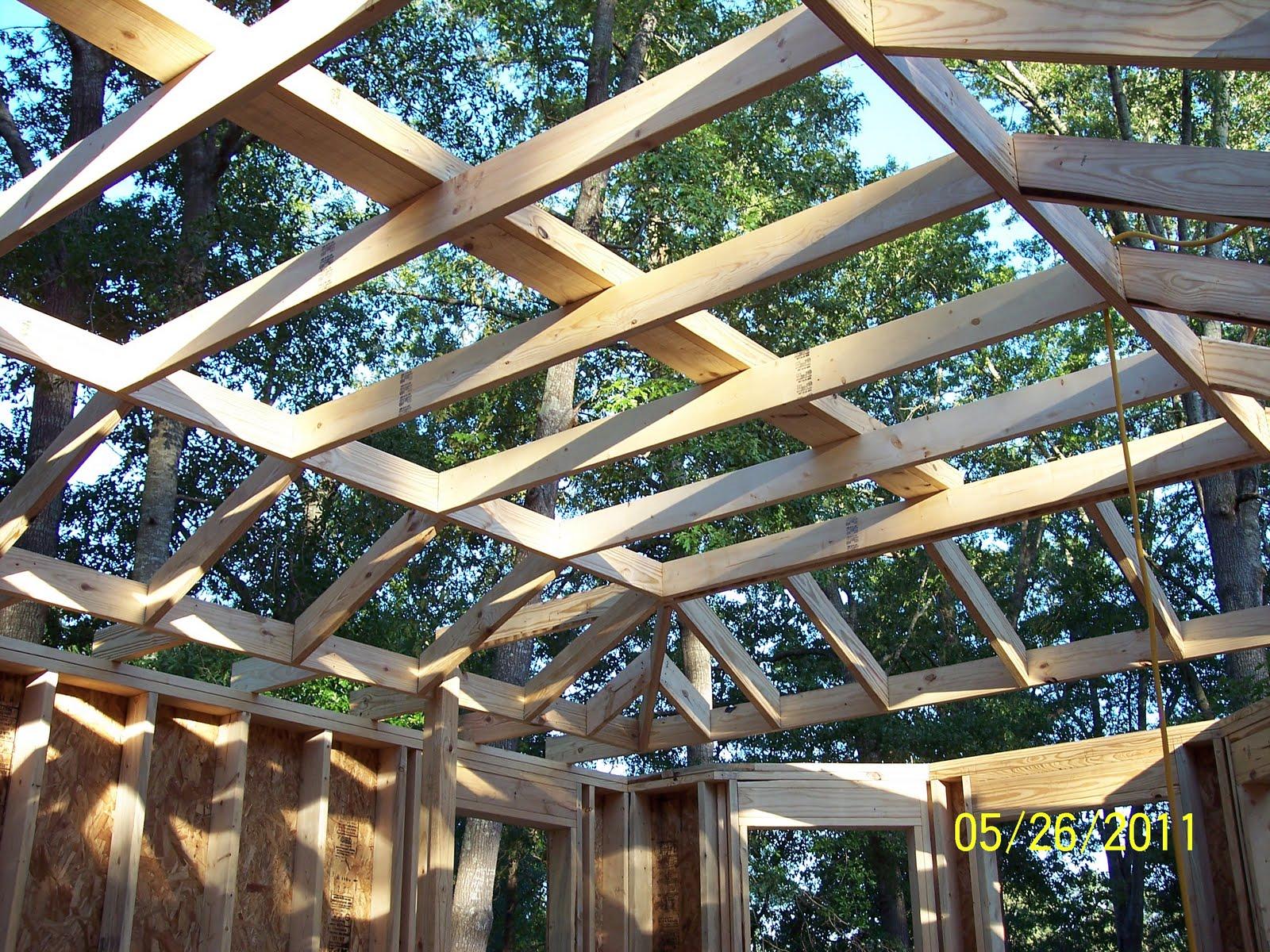 Building Our Oak Haven Dreamhouse: Ceiling Joist ...