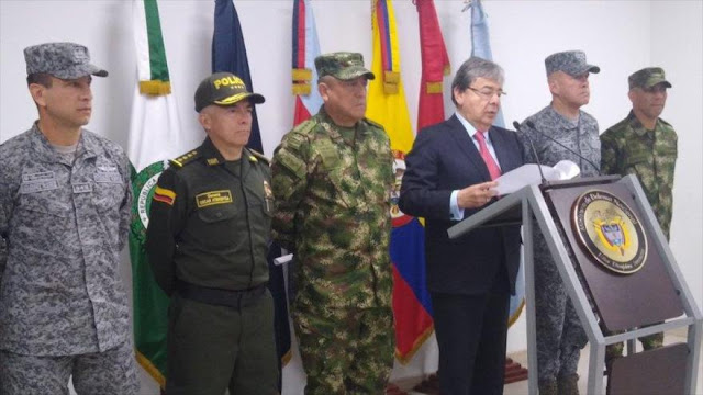 Colombia decreta alerta militar para frustrar paro armado del ELN