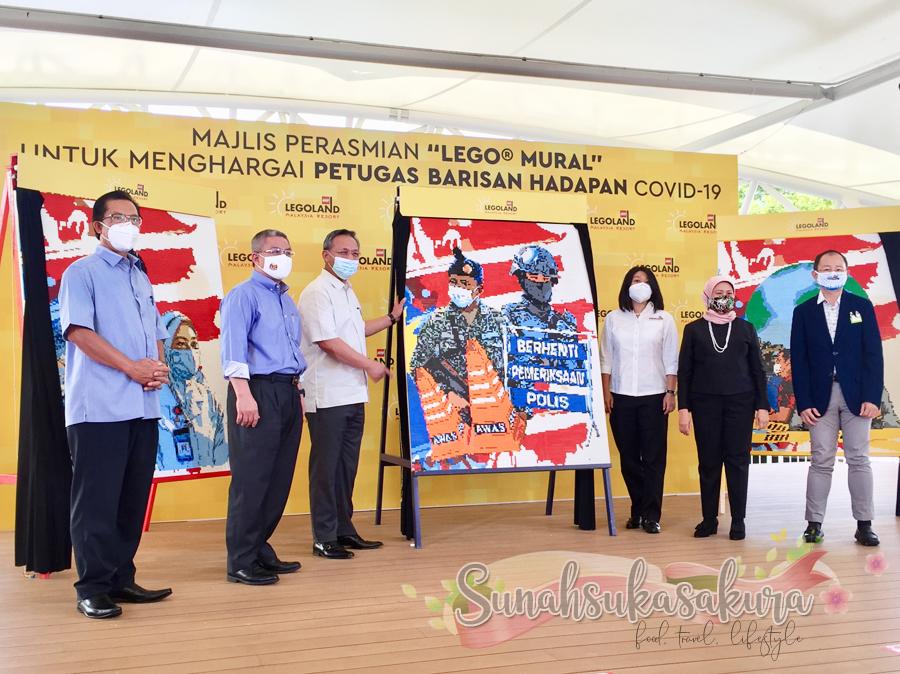 LEGOLAND® Malaysia Resort Lancarkan LEGO® Frontliner Tribute Murals