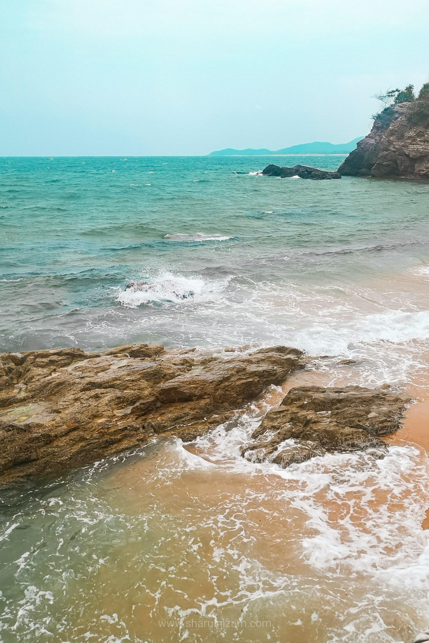 OOTD Di Pantai Kemasik, Terengganu