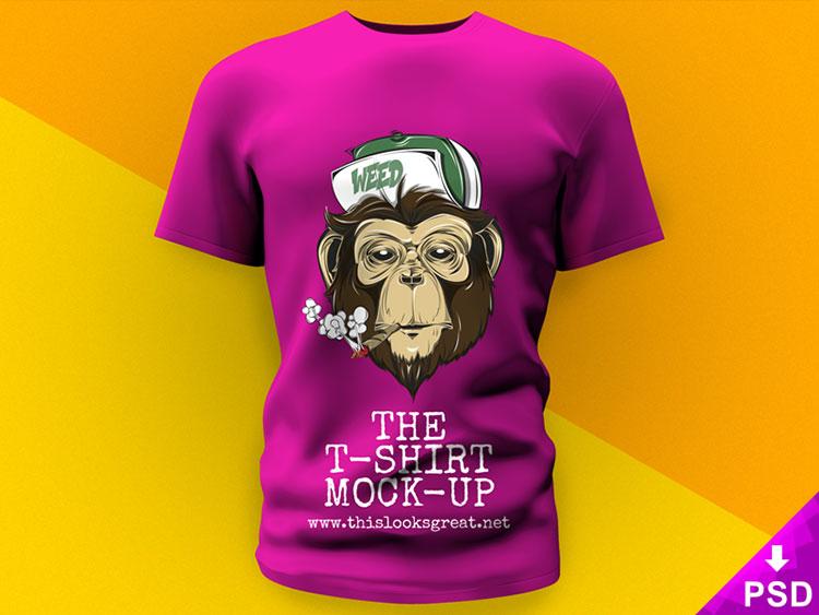 3D T-Shirt Mockup