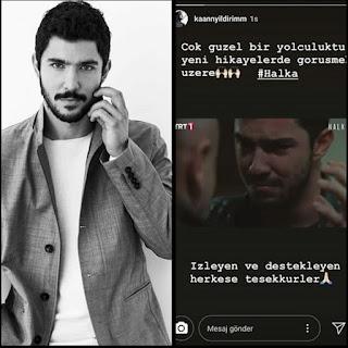 Kaan Yıldırım Instagram hesabından paylaştı diziden ayrılıyor!