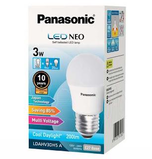 Panasonic LED Buld 3 watt