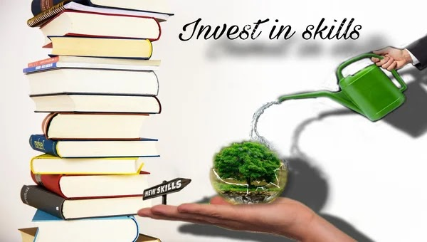 Why investing money in skills is important?