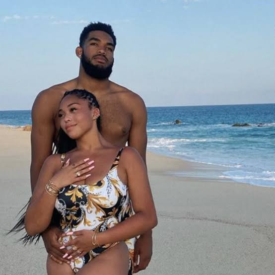Jordyn Woods and her man Karl-Anthony Towns respond to rumours that he's cheating on her