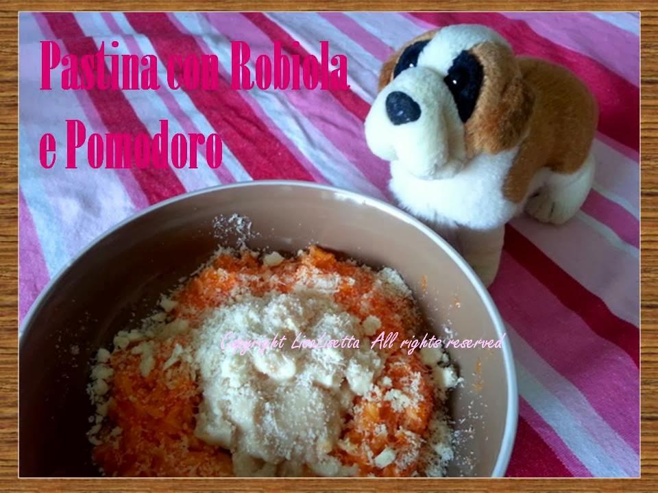 Pastina con Robiola e Pomodoro