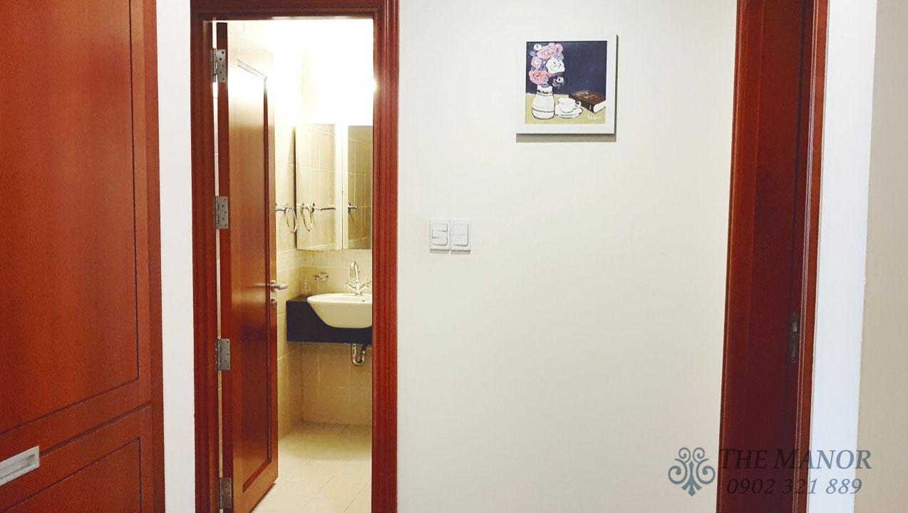 Căn hộ The Manor 2 phòng ngủ cho thuê 80m2 block F tầng thấp - hình 5
