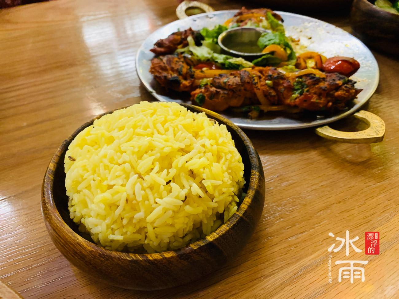 印渡風情|印度料理餐廳|薑黃白飯