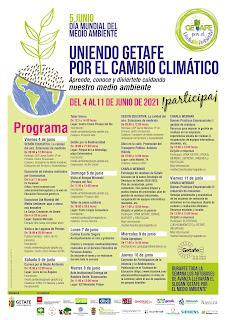 """Cartel informativo de la 4ª edición de """"Getafe por el Medio Ambiente"""""""