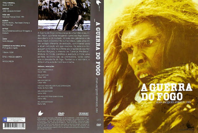 Capa DVD A Guerra do Fogo