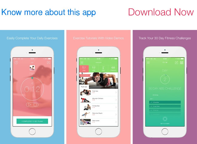 Download 30 Day Fitness Challenges for iPhone