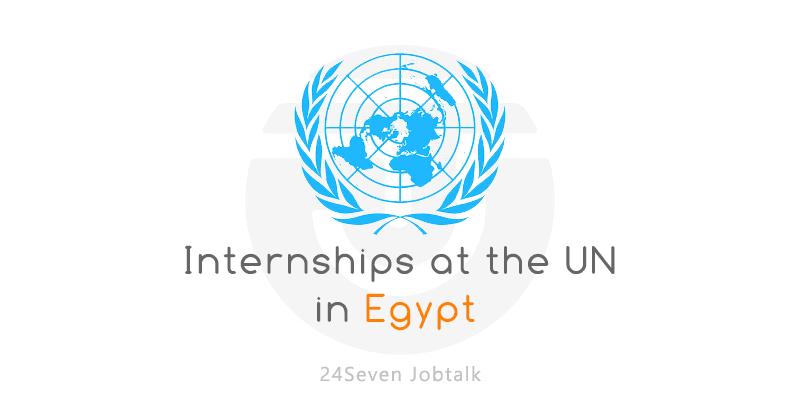 UN Internships in Egypt 2021