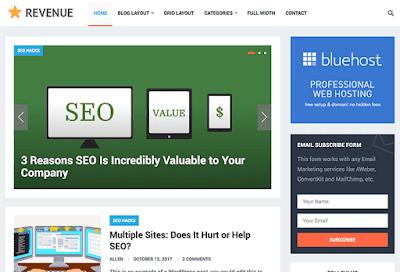 Revenue WordPress Theme