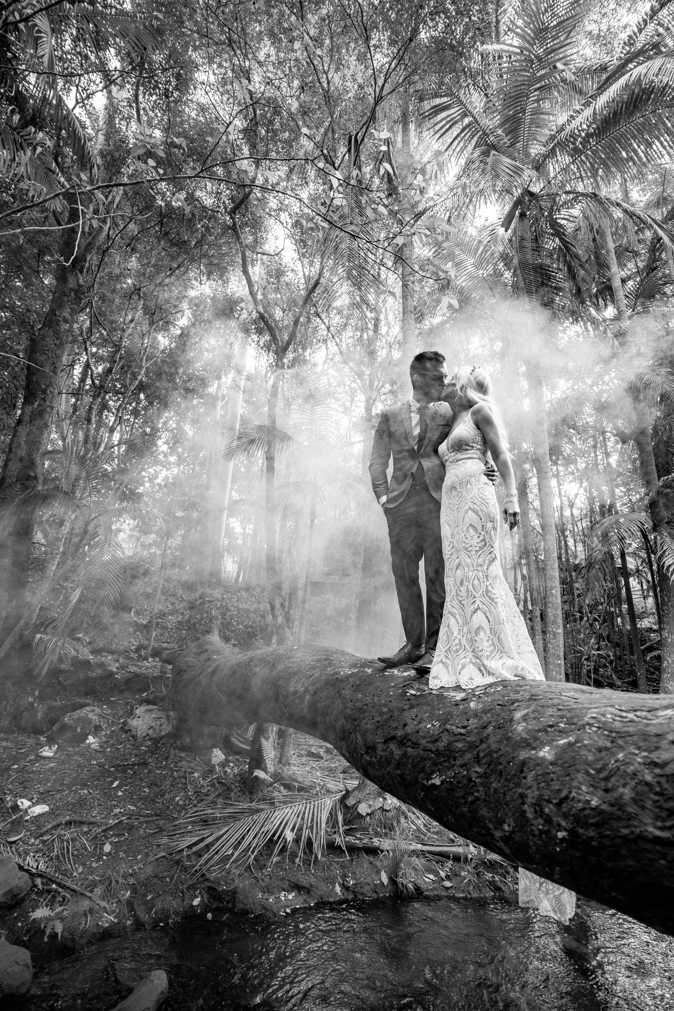LOVE STORY: BRITTNEY + RYAN   RAINFOREST WEDDING TAMBOURINE MOUNTAIN QLD