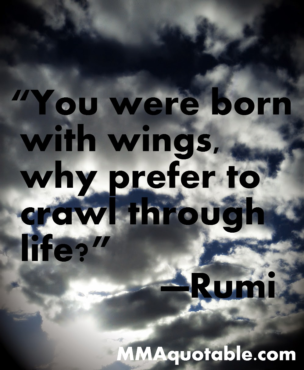 Motivational Quotes With Pictures (many MMA & UFC): Rumi