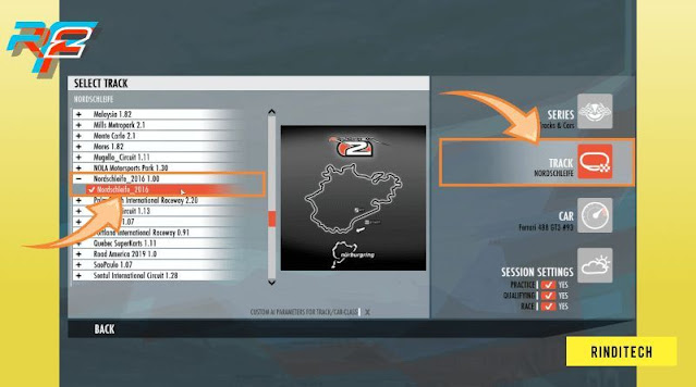 Cara install manual mod track sirkuit di rFactor 2