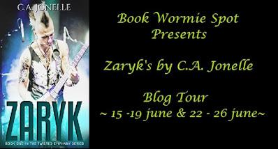 Zaryk by CA Jonelle book blog tour banner