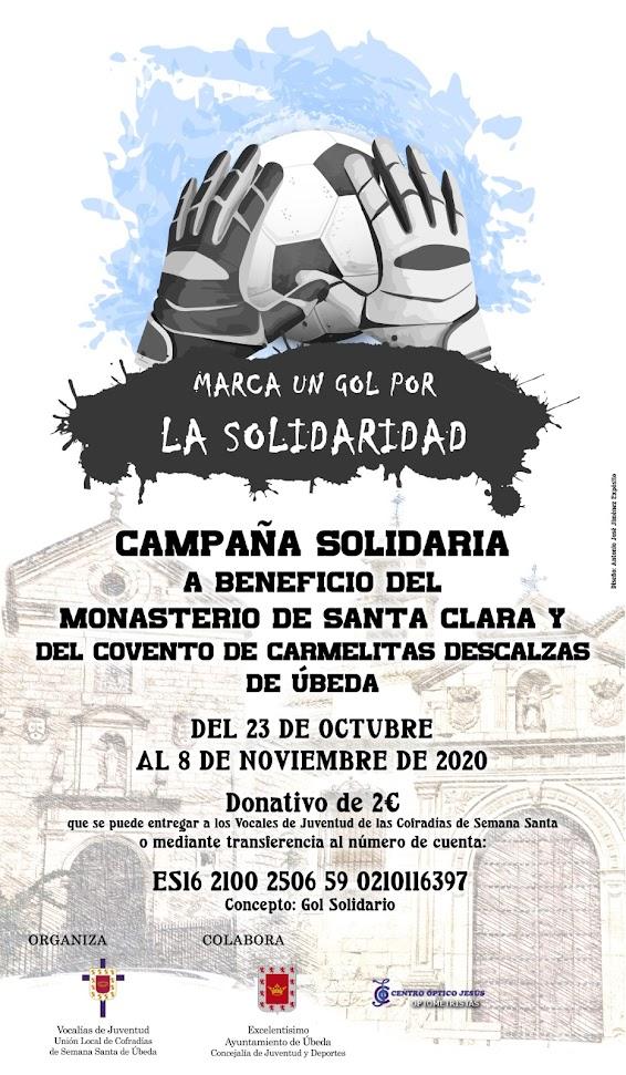Campaña Solidaria a beneficio del Monasterio de Santa Clara y del Convento de Carmelitas Descalzas de Úbeda