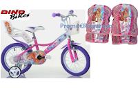 Logo Concorso ''Winx Spring Contest con Deakids'' : vinci gratis Kit Dino Bikes