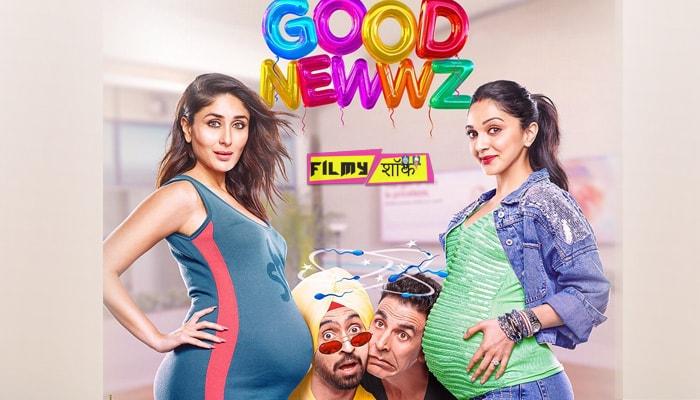 Good Newwz Movie Poster