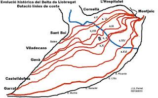 Avance del delta del Llobregat