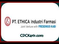 Lowongan Kerja Operator PT Ethica Industri Farmasi Cikarang November 2019