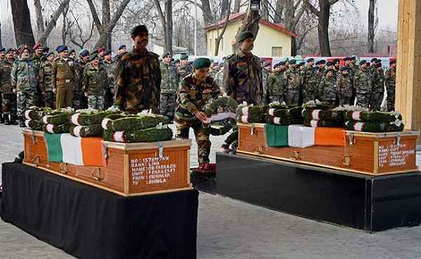 PAMPORE TERRORIST ATTACK 21-02-2016 KILLED DEAD SOLDIERS NAMES, PICS