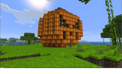Minecraft pumpkin builds