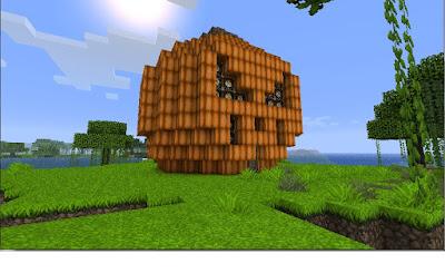Minecraft pumpkin builds