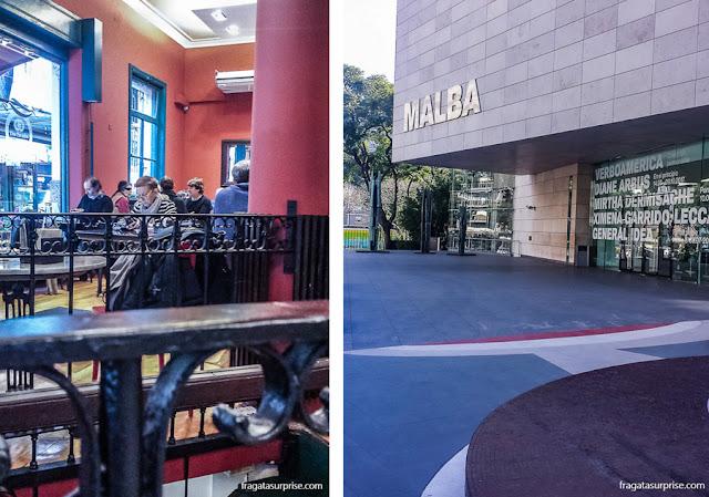 Buenos Aires: café na Recoleta e o Malba, Museu de Arte Latino Americana