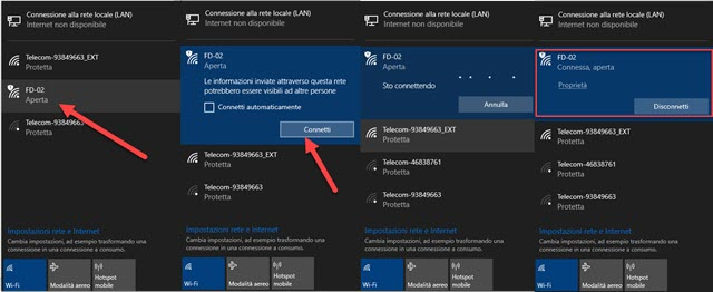 connettere il computer a internet con il cellulare
