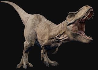 dinosaurus paling menakutkan t-rex