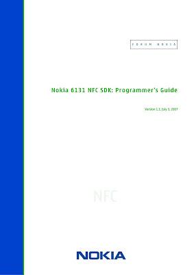 Nokia 6131 NFC SDK Programmers Guide Download eBook