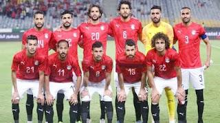 منتخب مصر فى مواجهة بتسوانا فى اللقاء الاول لحسام البدرى