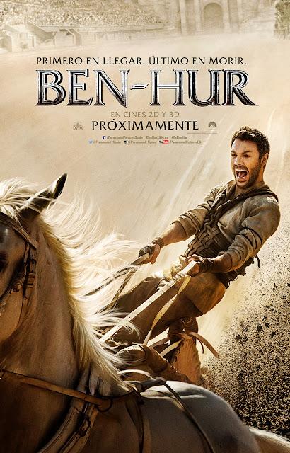 Primer tráiler y póster español de 'Ben-Hur'