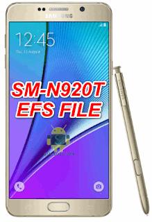Samsung Note 5 SM-N920T efs file-firmware download