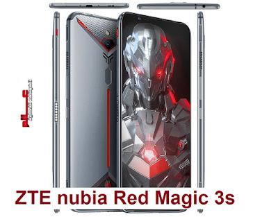 مواصفات و مميزات ZTE nubia Red Magic 3s مواصفات جوال زد تي إي نوبيا ريد ماجيك 3إس ZTE nubia Red Magic 3s