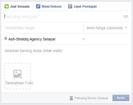 Toko Online Group FB - Jual Sesuatu